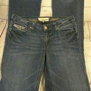 🍒J & Company🍒 Bling Jeans sz 6
